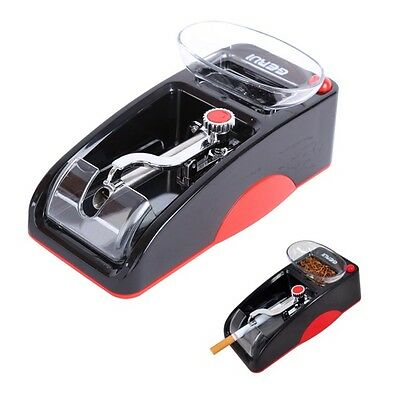 Automatic Cigarette Rolling Machine Tobacco Injector Maker (Red Or Blue)