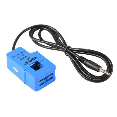 15V/1A 3.5mm Non-invasive AC Current Sensor Split Core Current Transformer TE758