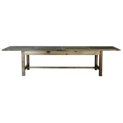 Large Elm Dining Kitchen Table From House Doctor Dk
