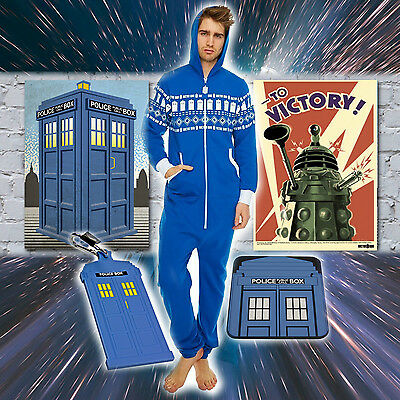 Doctor Who Gifts: Mug Duvet Canvas Teapot Cookie Jar Dressing Gown Jumpsuit Bags