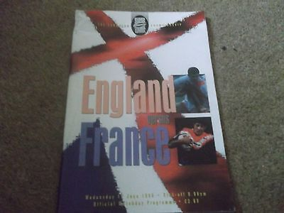 England V France European Championship @ Gateshead 12 June 1996 1St Super League