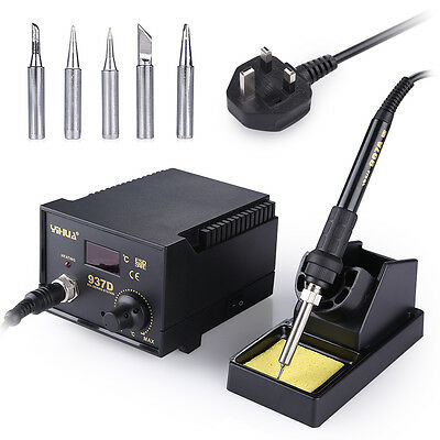 45W Soldering Station ESD Digital Thermostat Soldering Iron Welder YIHUA 937D
