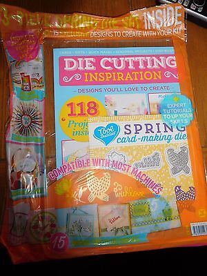 Die Cutting Inspiration Magazine With Free Gifts Spring Die Set RRP £9.99