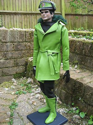 """Gerry Anderson Thunderbirds Lieutenant Green Full Scale Puppet KIT 23"""" Tall"""