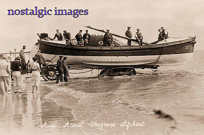 Photo  O F Skegness Lifeboat - The Anne Allen - Date Not Known