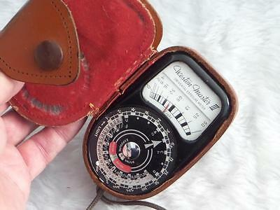 Weston Master III Exposure Meter with Case