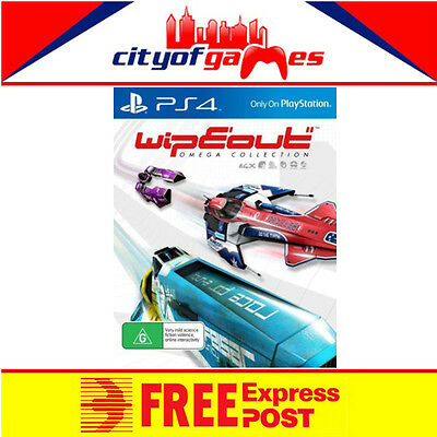 WipEout Omega Collection PS4 Game New & Sealed Free Express Post In Stock