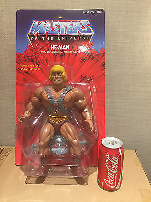 MOTU Vintage He Man Giant Jumbo Master of the Universe Mattel