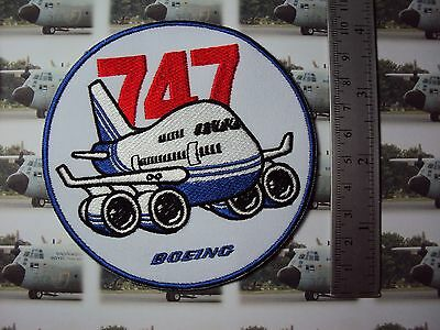 Boeing 747 Patch, Air Plane Boeing 747 Patch