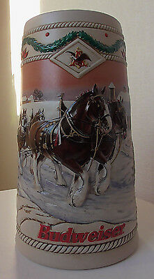 Budweiser Beer Stein ( Holiday )