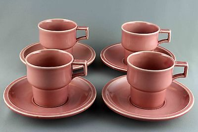 Extremely Rare Quistgaard Pink Tema  B&g Tea Cup And Saucer, 4 Sets Available