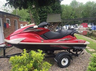 2009 Yamaha Fx Sho Supercharged Pwc Jet ski 1800cc 211hp With Roller Trailer