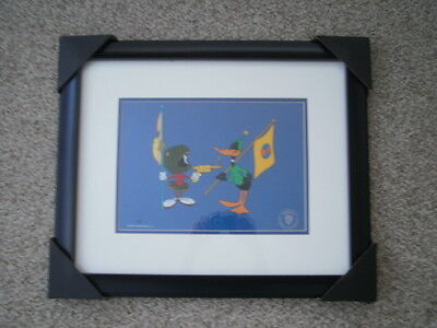 """Warner Brothers Cel -"""" Duck Dodgers"""" Le Artists Proof 1/1 - Brand New"""