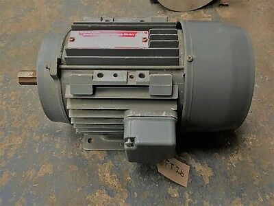 Brook Crompton Parkinson Motor 2.2 kW - 3 phase, 50hz  Rev/min 2850 V 240/415
