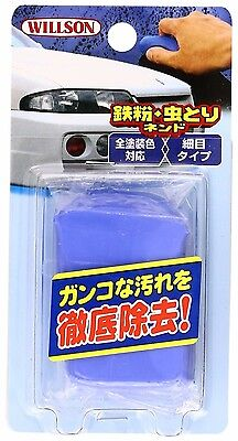 WILLSON Car Iron Powder & bug removing cleaning blue clay Ship Free from JAPAN