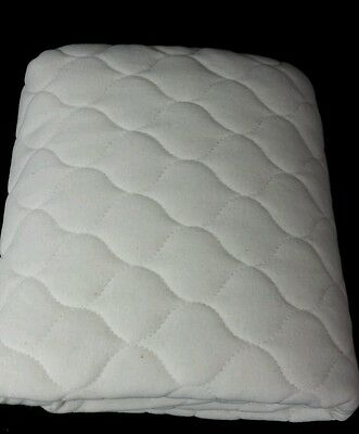 American Baby Company Organic Waterproof Quilted Crib Mattress Pad Cover BL23