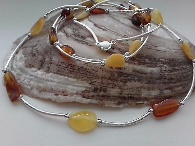 Mixed Lots  Baltic Amber  Necklaces + Bracelet