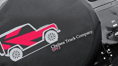 Spare Wheel Cover Kahn Chelsea Truck Company Soft Defender Used