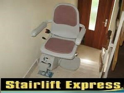 Acorn Slimline Stairlift for straight stairs, fitted & 12 month warranty!!!