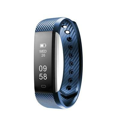 Activity Fitness Sleep Health Tracker Watch Health Band Fitbit Style Pedometer