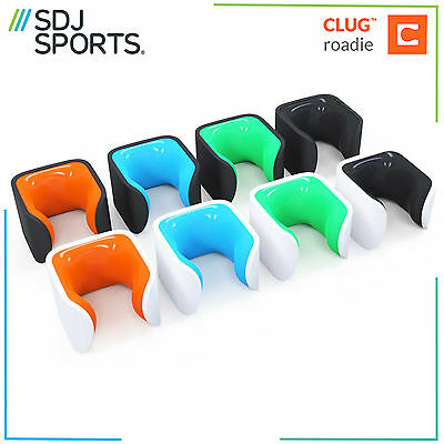 Clug Roadie Bike Clip - Worlds Smallest Wall Mounted Road Bike Rack Stand
