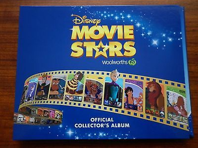 Woolworths Disney Movie Stars Album Plus Full Set Of Cards And Stickers