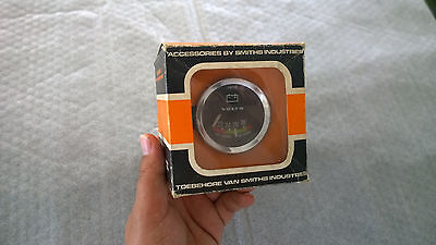Nos Smiths Volts Battery Gauge,bmc Mini Cooper S,mk1,mk2,works,speedwell,ford