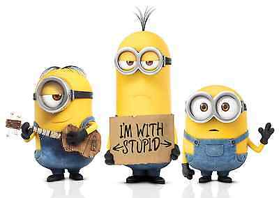 Unofficial MINIONS (2) *A3* print Poster - Despicable Me