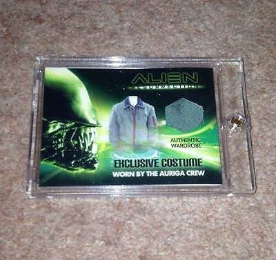 Alien Resurrection Wardrobe Auriga Crew Costume Patch Bam Box Covenant