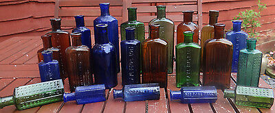 Various Designs Poison Bottles.great Interior Decor Examples.old English Poison