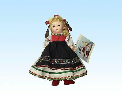 Madame Alexander Doll, Poland, No. 580, With Box And Tags