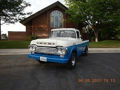 1959 Ford F-100 Custom cab 1959 F100