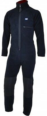 NEU! Fleece Underall/Overall DRY FASHION - Navy - Größe M - 360Gr. - WARM!