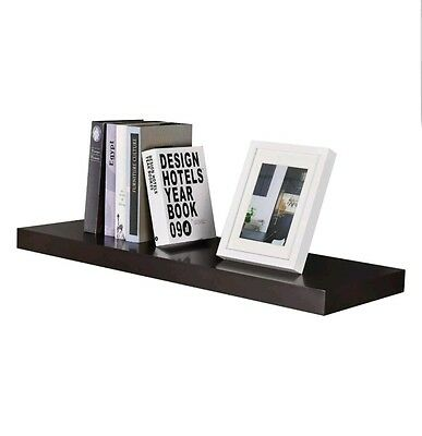 Welland Houston Floating Wall Shelf Espresso 48 Inch 3999