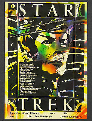 Star Trek: The Motion Picture Original East German Movie Poster. Spock.