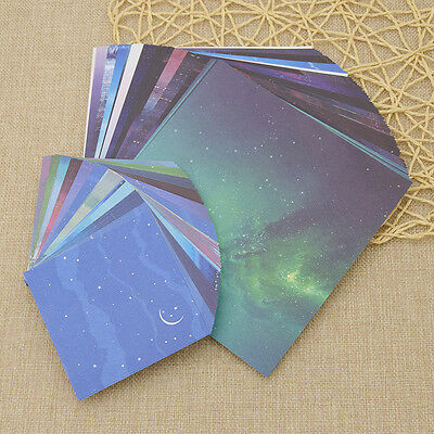 Origami Color Paper Crafts Universe Star Moon DIY Making Scrapbooking Crafts