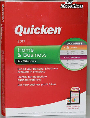 Quicken 2017 Home & Business Personal Finance for Windows