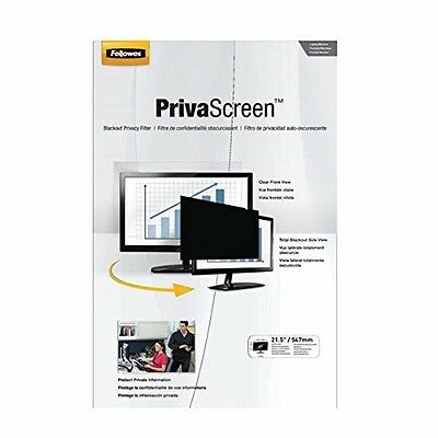 Fellowes PrivaScreen Privacy Filter 21.5-inch Widescreen 16:9.  New / Unopend