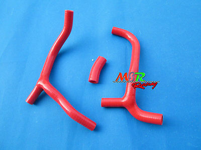 for Honda CRF450 R CRF450R 2009 2010 2011 silicone radiator hose new red