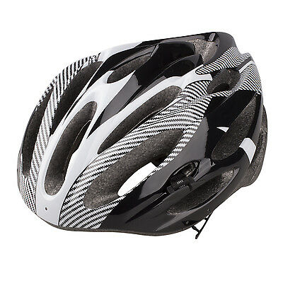 Ultralight Sports Cycling Helmet with Lining Pad Mountain Bicycle Adult White DT