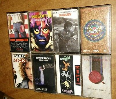 Lot of 74 Cassettes - Metal, Hard Rock, Pop, Country, R&B & more