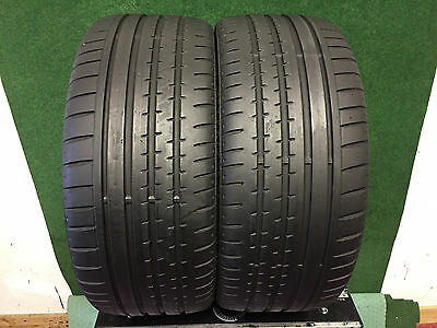 235 35 19 Continental  Sport Contact 2     Tyres   6 Mm .  X2   91Y Xl