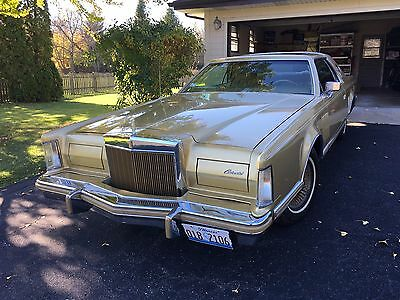 1978 Lincoln Continental Mark V Coupe Jubilee Edition