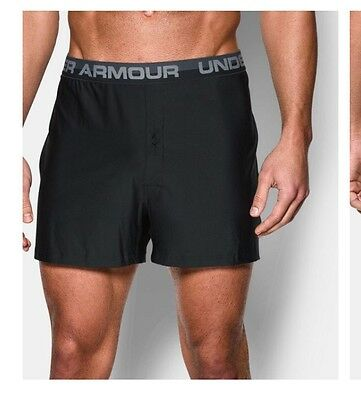 Men's Athletic Under Armour Boxer Underwear Size M, Set Of 3