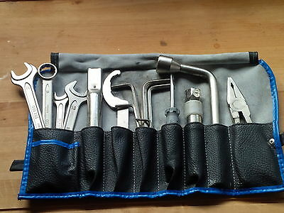 BMW K100 RS 16 Valve Tool Kit Original Complete Roll Spanners
