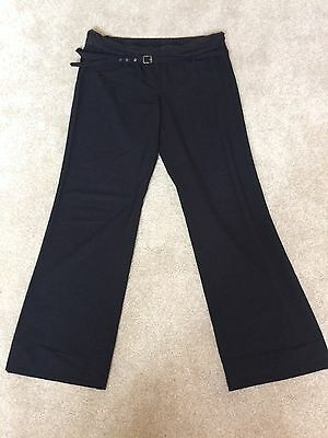 Next maternity trousers, black, size 16 long