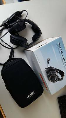Bose A20 Aviation Headset - Battery Power - Helicopter U174 plug - Low impedance