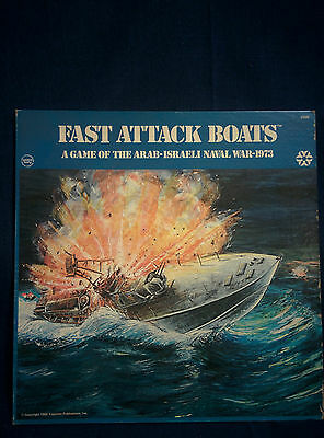 Fast Attack Boats: A Game of the Arab-Isreali Naval War of 1973