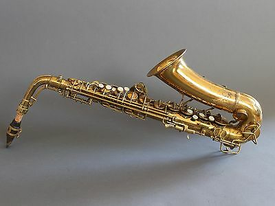 Vintage 1941 Conn 6M VIII Naked Lady Alto Saxophone Worldwide Shipping