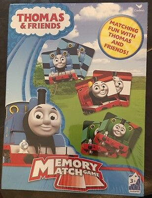 New Thomas the Train and Friend Memory Match Game *Free Shipping* Board Cardinal